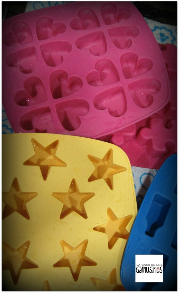 moldes de silicona