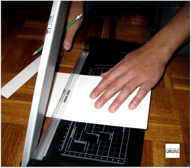 cortar la tarjeta a medida