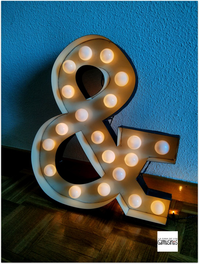 15 letras luminosas
