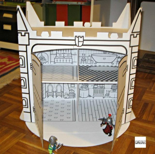 castillo de carton 3