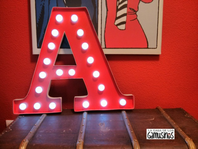 Marquee Letter A